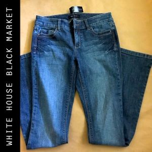 NWT WHBM BOOTCUT JEANS SIZE 2R